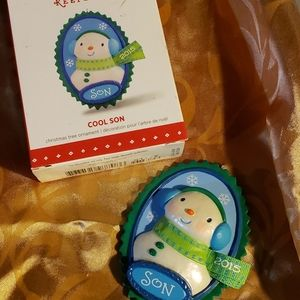 Cool Son Hallmark Keepsake ornament